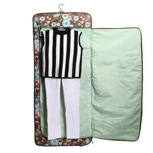 Defective Garment Bag Floral Fanfare luggage large